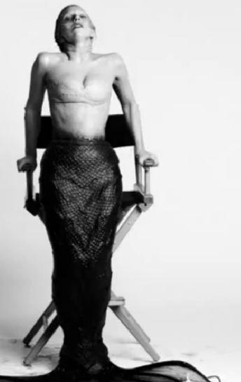 Lady Gaga la sirenita siniestra, ¡uy qué miedo!