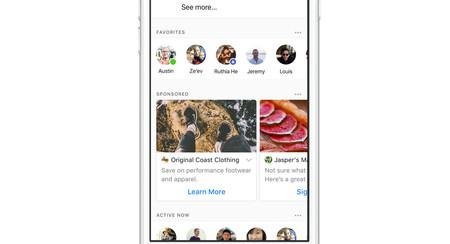 Los anuncios van a llegar a Facebook Messenger, y son grandes