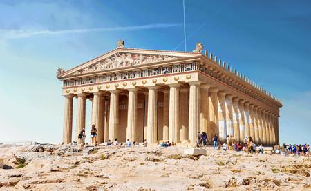 7 maravillas de la Antigüedad hoy derruidas, reconstruidas en estos fantásticos gifs