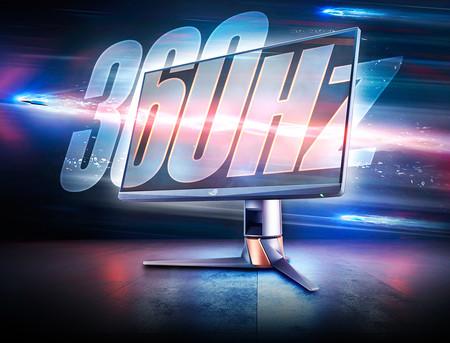 ASUS anuncia el ROG Swift 360Hz PG259QN: un monitor Full HD enfocado al gaming con nada menos que 360 Hz de refresco