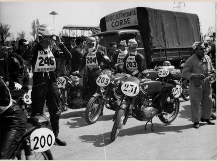 Ducati Marianna en competición