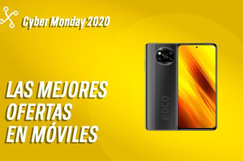 Los mejores móviles de 2020 en oferta por el Cyber Monday 2020: POCO X3 rebajado, S20 FE a precio de derribo y muchas más ofertas