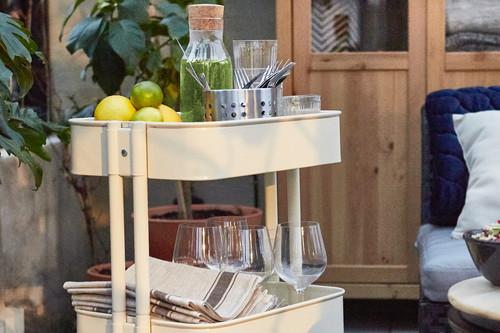 El carrito de Ikea RÅSKOG; un sin fin de posibilidades por 39,99 euros