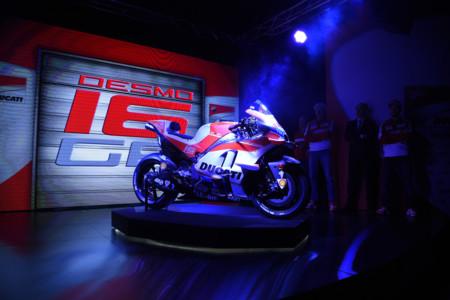 Presentación oficial del equipo Ducati de MotoGP y su espectacular decoración definitiva