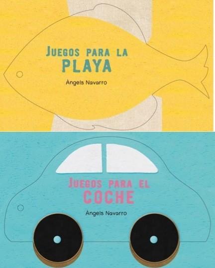 Juegos para la playa y para el coche, libros de actividades para llevar