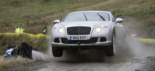 Bentley GT Speed Top Gear