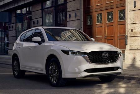 El Mazda CX-5 2022 estrena facelift: unifica su estilo con CX-30 y mejora el manejo