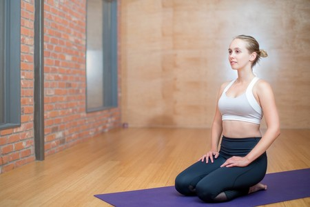 Yoga Embarazo Vajrasana