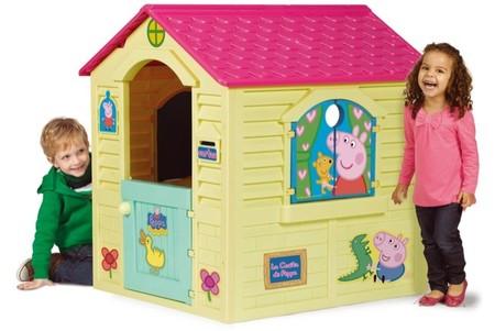 La casita de Peppa Pig para exteriores de la empresa española Chicos