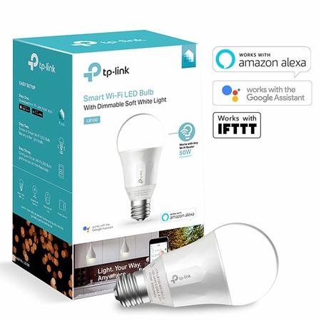 Bombilla LED inteligente TP-Link LB100, con conectividad WiFi, por 18,32 euros en Amazon