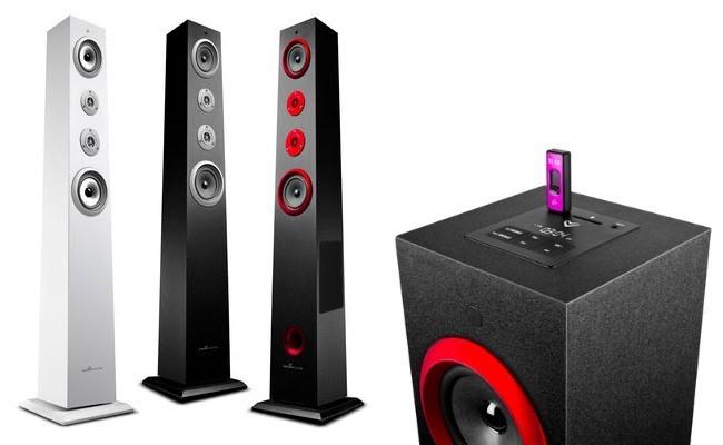 Energy Tower System, sistema de sonido compacto para tu casa