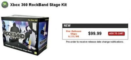 Rock Band Stage Kit, haz más realista el juego