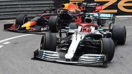 Hamilton Verstappen Monaco F1 2019