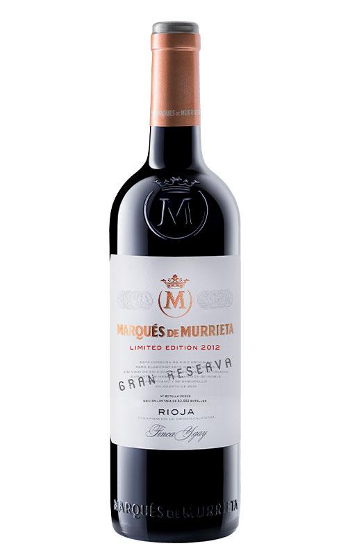 Marqués de Murrieta Gran Reserva Edición Limitada 2012. DOCa Rioja