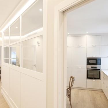 Soluciones para el hogar: Una cocina abierta y cerrada a la vez