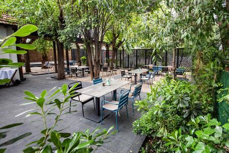 Terraza General El Jardin De Alma