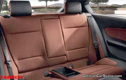 Interior del BMW Serie 1 Coupe