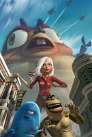 'Monsters Vs. Aliens', primera imagen y reparto
