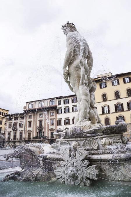La Fontana del Nettuno de Florencia, más bella que nunca gracias a Salvatore Ferragamo
