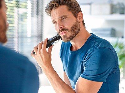 Barbero Philips BT7201/16 con sistema de aspiración por 46,69 euros