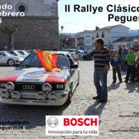 Planes de fin de semana: Rally de regularidad clásica en Peguerinos