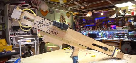 Los Fidget Spinners también pueden ser poderosas armas y este cañón casero lo demuestra