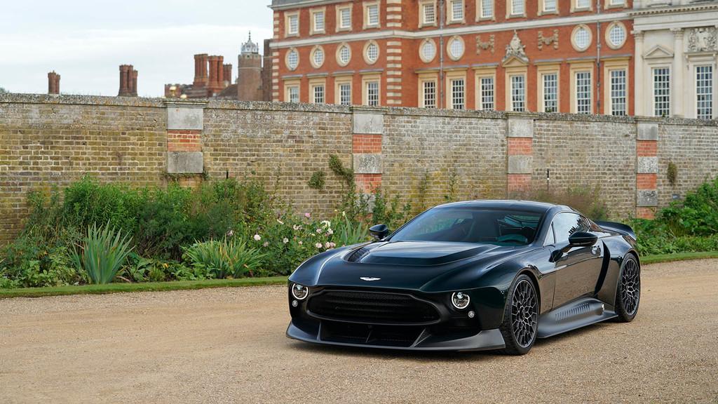 Aston Martin Victor, el bestial one-off de 848 CV y cambio manual como homenaje a los Vantage