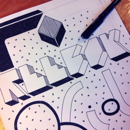 ¿Qué pasaría si jóvenes artistas recrearan el logo de Reebok Classic?