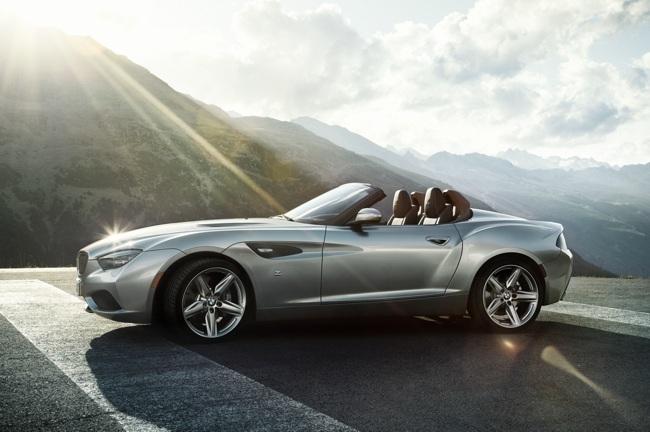 BMW Zagato Roadster Concept 01
