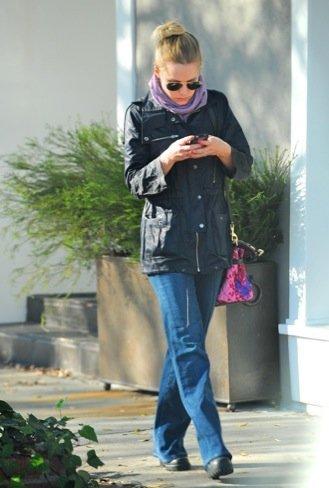 Kristen Bell Pantalón campana