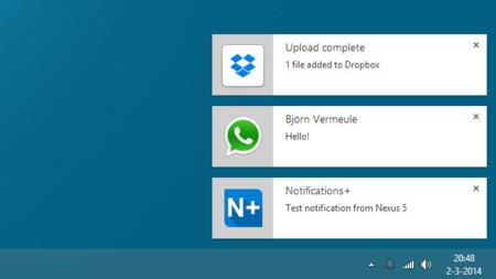 Notifications+ envía las notificaciones de tu Android a tu navegador Chrome