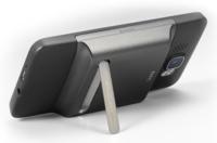 HTC HD2, soporte y batería extendida en uno