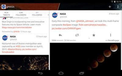 Fenix se renueva como aspirante a mejor cliente de Twitter en Android