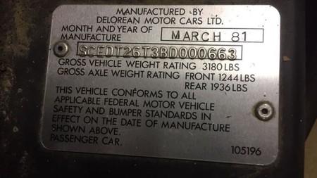 Encuentran dos DeLorean abandonados en una bodega hace 40 años