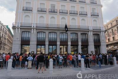 Apple Store, Puerta del Sol: así ha sido su inauguración
