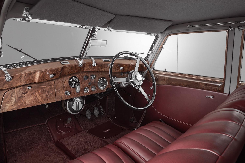Foto de Bentley Corniche de 1939 por Mulliner (10/14)