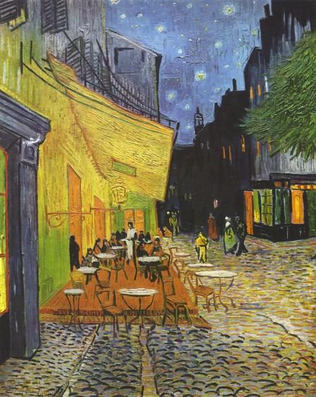 Vincent Willem Van Gogh Cafe Terrace At Night Yorck
