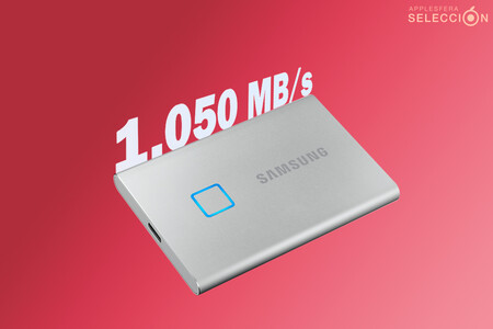 Protección con huella dactilar: el SSD portátil Samsung T7 Touch de 500 GB y 1.050 MB/s a 98,58 euros en Amazon