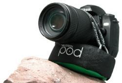 The Pod, un bean bag con tornillo para asegurar la cámara