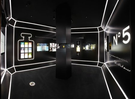 Espacio Chanel nº5 en Casa Decor