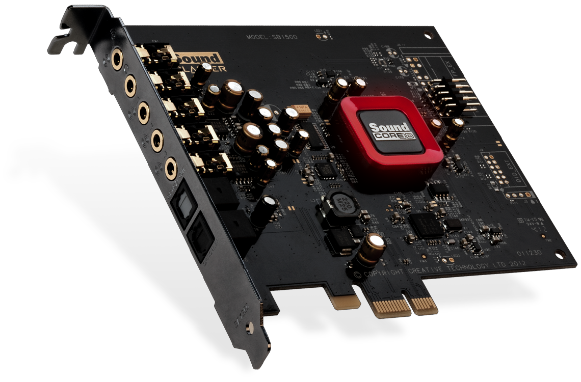 Tarjeta de sonido Sound Blaster Z SE
