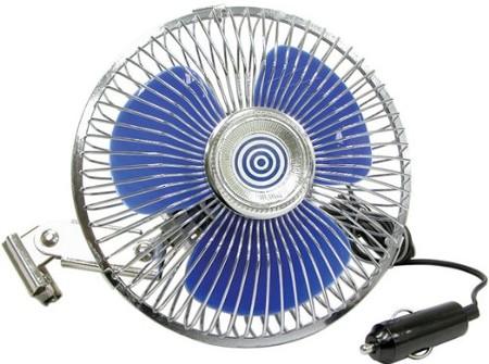Refresca el interior de tu coche con este ventilador de 12 V para coche Carpoint 0570010 por 15,16 euros en Amazon