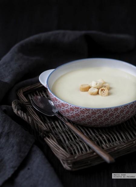 vichyssoise sin nata y sin mantequilla