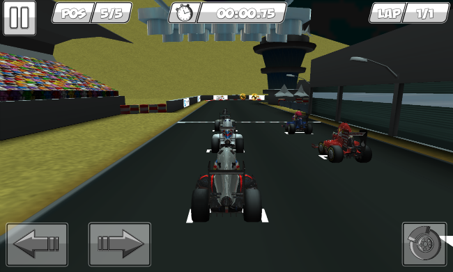 Minidrivers, Formula 1 in the style of Mario Kart – phoneia