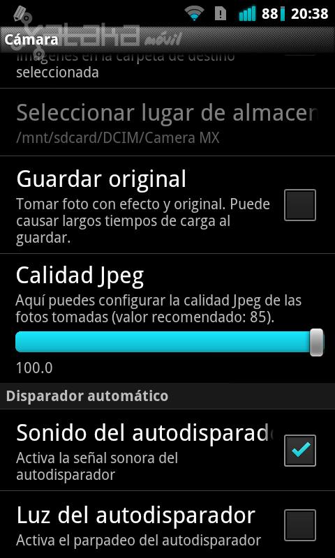 Foto de Camera MX de Magix para Android en imágenes (18/20)