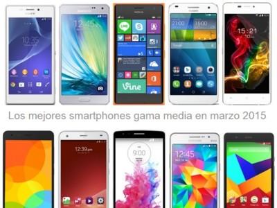 Aquí tienes los smartphones más equilibrados en gama media con su precio libre y con operadoras