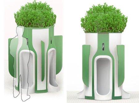 Diseño y funcionalidad para los urinarios públicos