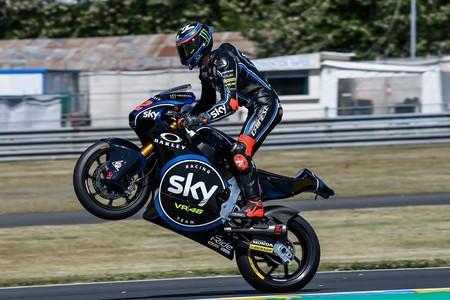 Pecco Bagnaia Moto2 Gp Francia 2018