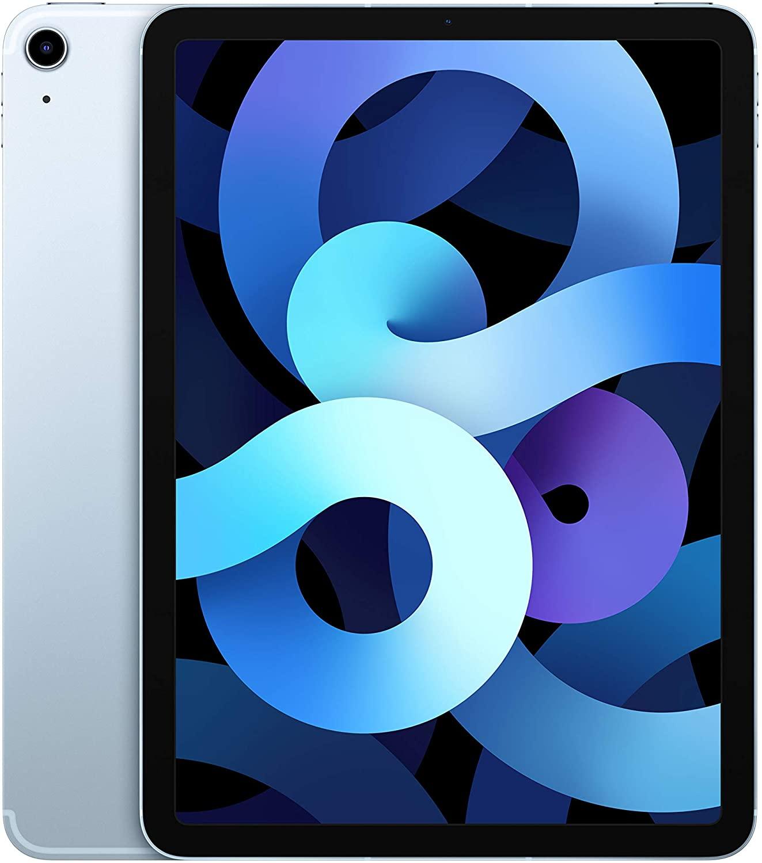 Apple iPad Air (de 10.9 pulgadas, con Wi-Fi + Cellular y 256 GB) - Azul cielo (Ultimo Modelo, 4.ª generación)