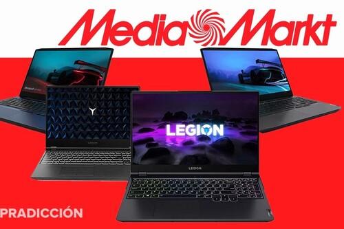 Estos 9 portátiles gaming de Lenovo llevan descuentos de entre 300 y 50 euros esta semana en MediaMarkt